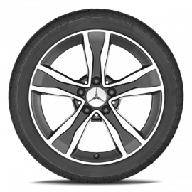 Зимние колеса Mercedes C Class W205 R17