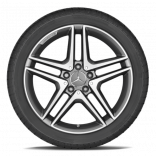Зимние колеса Mercedes A, B, CLA R18