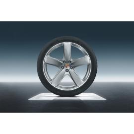 Летние колеса Porsche Macan Sport Classic R21 Silver