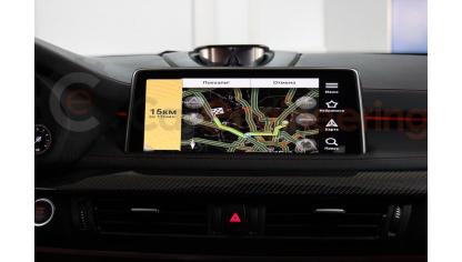Андроид для BMW X5 F15 и BMW X6 F16, Навител, Яндекс Карты, интернет.
