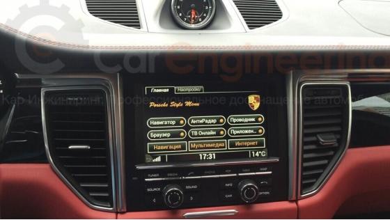 Android для Porsche Macan – полноценная навигация с пробками и интернет