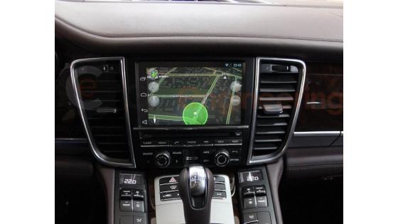 Цифровой ТВ-тюнер для Porsche Panamera и Андроид с загрузкой пробок
