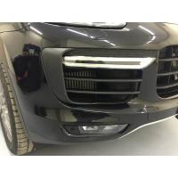 Установка бампера Turbo для Porsche Cayenne
