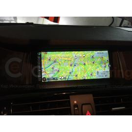 BMW X4 – установка оригинальной NBT навигации