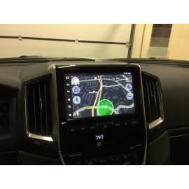 Установка навигации на Тойота Ленд Крузер 200 (2016, 2017)