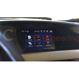 Андроид в Lexus RX + Яндекс Навигатор с пробками