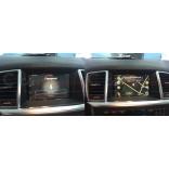 Mercedes ML W166 и Mercedes GL X166: навигация, мониторы, ТВ-тюнер и камера