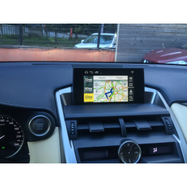 Андроид в Lexus NX + Яндекс Навигатор с пробками