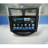 Штатное головное устройство Hyundai Solaris CarMedia (2010-2016)