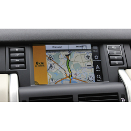 Яндекс навигация Land Rover Discovery Sport