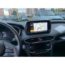 Штатная магнитола Android 6 Hyundai Santa Fe 4 TM (2018-2020) Яндекс.Авто R97102P004HSF