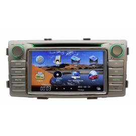 Штатное головное устройство Toyota Hilux Карсис (2011-2015)