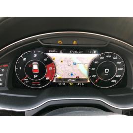 Цифровая приборная панель Audi Q7 Virtual CockPit (2015-2017, 2018)