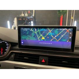Монитор мультимедийный Carlink для Audi Q5 (2017-2018, 2019, 2020)