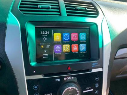 Навигация Ford Explorer V (Android в Форд Эксплорер 5)