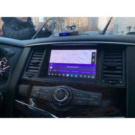 Навигация Infiniti QX80 (2019, 2020 и 2021)