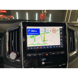 Яндекс навигация Toyota Land Cruiser 200 (2015-2021)