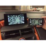 Зеркало картинки с телефона на монитор Lexus
