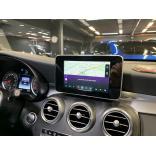 Яндекс навигация Mercedes GLC (2015-2018, 2019)