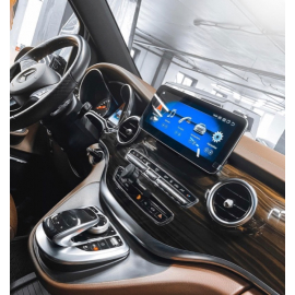 Монитор 10,25' и Яндекс навигация Mercedes Benz V class W447 (2014-2019)