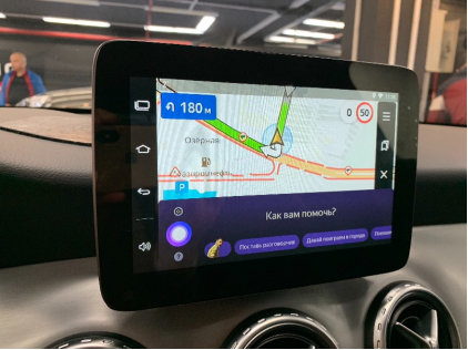 Навигация в Mercedes GLA X156 (Андроид в Мерседес ГЛА с 2014 по 2019)