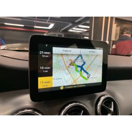 Яндекс навигация Mercedes GLA (2017, 2018, 2019)