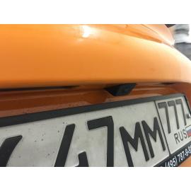 Штатная камера заднего вида Porsche Cayman