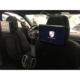 Мониторы на подголовники для Porsche Cayenne