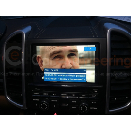 Цифровой ТВ тюнер Porsche Cayenne