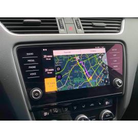 Яндекс.Навигатор, Навигация Skoda Octavia A7