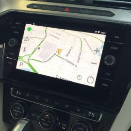 Яндекс.Навигатор, Навигация VW Passat B8