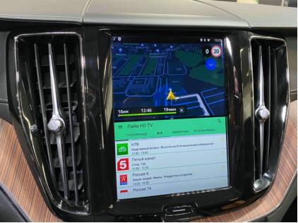 Навигация в Volvo XC60 (2018-2021), Андроид в Вольво ХС60