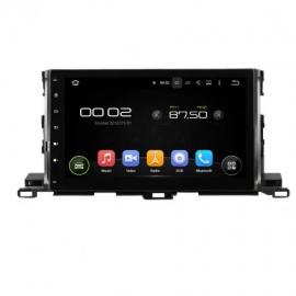 Магнитола Android 10 Toyota Highlander U50 (2014-2020) Carmedia KD-1036-P30