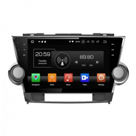Штатное головное устройство Андройд 9 Тойота Хайлендер U40 (2008-2013) Кармедиа OL-1616-P5