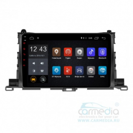 Штатная магнитола Android 6 Toyota Highlander U50 (2014-2020) Carmedia OL-1601-MTK