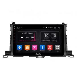 Штатное головное устройство Android 10 Toyota Highlander U50 (2014-2020) Carmedia OL-1601-P30