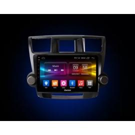 Штатное головное устройство Android 10 Toyota Highlander U40 (2008-2013) Carmedia OL-1616-P30