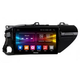 Штатная магнитола Android 9 Toyota Hilux (2015-2020) Carmedia OL-1686-P30