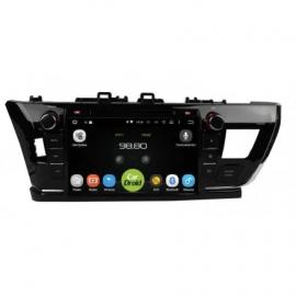 Штатное головное устройство Андройд 8 Тойота Королла E160 (2013-2016) Роксимо CarDroid RD-1103