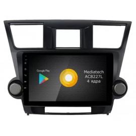 Штатная магнитола Android 10 Toyota Highlander U40 (2008-2013) Roximo S10 RS-1122