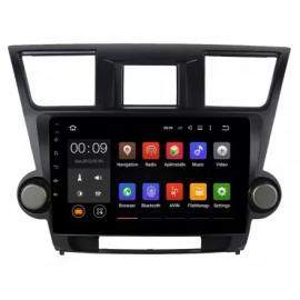 Штатное головное устройство Android 10 Toyota Highlander U40 (2008-2013) Roximo 4G RX-1122
