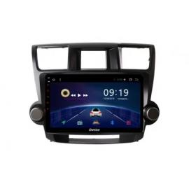 Штатная магнитола Андройд 7 Тойота Хайлендер U40 (2008-2013) Ownice G50 S1616T
