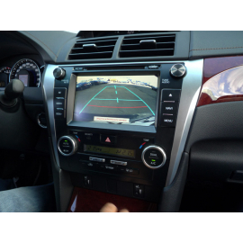Камера заднего вида Toyota Camry V55