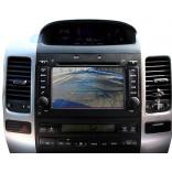 Камера заднего и переднего вида Toyota Prado 120