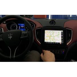 Яндекс навигация Maserati Ghibili