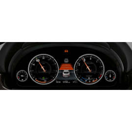 Адаптивный (активный) круиз контроль Stop&Go BMW X5, X6 (F15/F16)