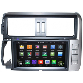 Магнитола Android 10 Toyota LC Prado 150 (2009-2013) Carmedia KD-8015-P6