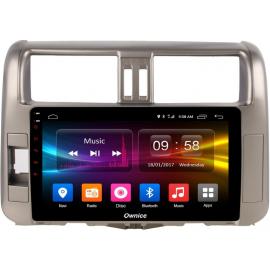 Штатное головное устройство Android 6 Toyota LC Prado 150 (2009-2013) Carmedia OL-9613-MTK