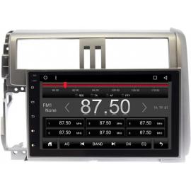 Магнитола Android 6 Toyota LC Prado 150 (2009-2013) Carmedia QR-9034