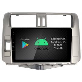 Магнитола Android 9 Toyota LC Prado 150 (2009-2013) Roximo RI-1114